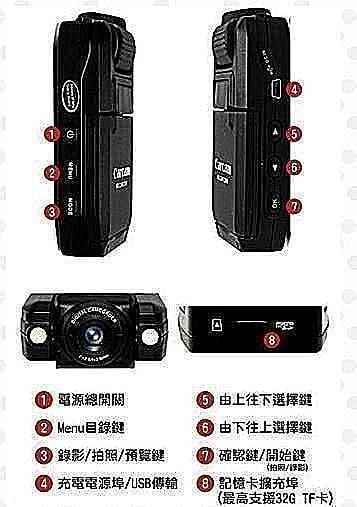 送8G卡 全新一代穩定版 Carcam P5000 2LED燈 夜視功能 行車紀錄器 140度廣角 紅外線夜視01