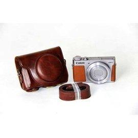 Canon Powershot G9 X 復古皮套 兩件式可拆 G9X 復古包 相機包 皮