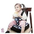 Una兒童餐椅墊~外出最佳可攜式寶寶餐椅增高墊