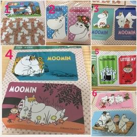嚕嚕米票卡貼紙MOOMIN裝飾貼紙