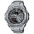 CASIO 卡西歐手錶 G-SHOCK G-STEEL系列 GST-210D-1A 黑色面盤