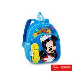 AT美國旅行者 Disney迷你後背包(太空米奇)  不含PVC 媽咪首選 有前扣 側邊網狀袋