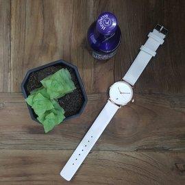 實拍★Creyes鐘錶★氣質典雅女神腕錶 白#MK 三眼 穿搭 情人節 禮物 手錶 潮流 情侶 時尚 CK DW 超人氣