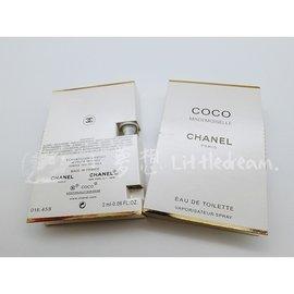 PF001 Chanel 香奈兒 COCO 女性香水 2ml 隨身小香水 試管 MADEMOISELLE 可可小姐