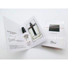 PF013 CD/Dior Homme Sport迪奧桀驁男性運動香水 試管小樣2ml 正品試用裝 隨身瓶小香水