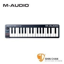 M-AUDIO Keystation MINI 32 II 迷你32鍵主控鍵盤【USB介面/MKII】