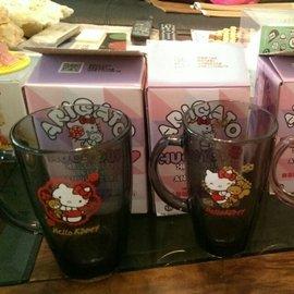 7-11 Hello Kitty 40週年限定玻璃馬克杯&全家華麗馬克杯