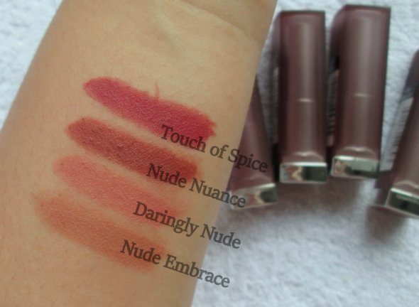 現貨*maybelline Color Sensation creamy霧面口紅 裸棕土色657Nude Nuance01
