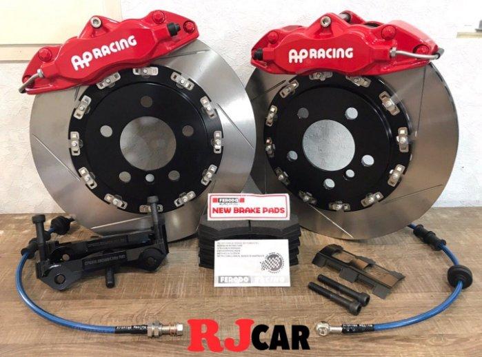 RJCAR ㊣ AP9200 四活塞卡鉗/搭配330mm全浮動碟盤/Ferodo DS2500來令片 Honda車系03