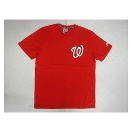 2015年美國職棒大聯盟MLB MAJESTIC華盛頓國民隊 LOGO 短袖棉T~ 上市