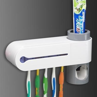 [炙哥]FB熱銷紫外線殺菌牙刷盒/自動擠牙膏/紫外線消毒器/紫外線牙刷消毒盒/紫外線牙刷架01