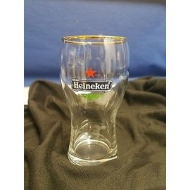 海尼根特殊 金邊杯口 Heineken 1 2 pint Beer Glass Gold Rim 品脫杯 啤酒杯