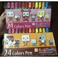 24色親子豆腐人水洗彩色筆1組