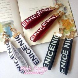~夾式耳環~ 韓國飾品 彩色緞帶字母耳夾 螺旋耳夾 A0028 PinkParty韓系飾品
