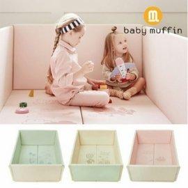 🐻韓國品牌👶【baby muffin】多功能嬰兒防撞墊。嬰兒爬行墊。兒童遊戲墊。兒童爬行墊。球池