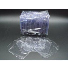 ~ ~8CM高透度高韌性不傷手四圓角CD BD DVD 光碟PVC袋 光碟袋 PVC袋 透明CD袋100個