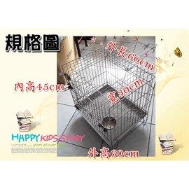二手 不鏽鋼 不銹鋼 (雙門) 正抽 底盤活動 (304#級) 白鐵 兔籠 狗籠 貓籠 寵物籠
