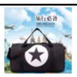 (黃淑娟)超大容量手提單肩斜跨男女旅行 行李包