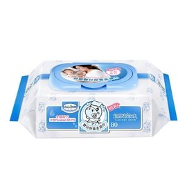 【全新配方】貝恩嬰兒保養柔濕巾80抽(單包)