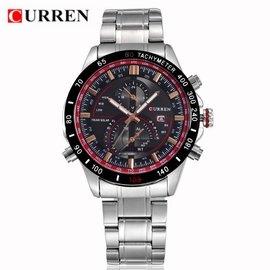 正品 CURREN 卡瑞恩 BRGB8149022 CITIZEN 男士手錶 石英錶 精密腕錶
