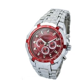 正品 CURREN卡瑞恩SRR8084017 CITIZEN SEIKO 可參考 男士手錶 石英錶精密腕錶