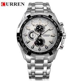 潮男特區超特價正品 CURREN 卡瑞恩 SSW8023020 CITIZEN 可參考 男士手錶 石英錶 精密腕錶