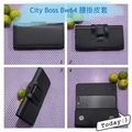 City Boss HTC U Play BW64 腰掛式橫式皮套 手機掛腰皮套 (裸機or裝空壓可裝下) U+