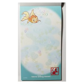 >>Join兔<<信籤信紙書籤文具信封便條紙鉛筆鋼筆便利貼紙膠帶明信片卡片系列 no.095迪士尼魚小姐信籤組 分裝賣