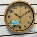 🔴特價超靜音歐式木質無印質感時鐘掛鐘壁鐘