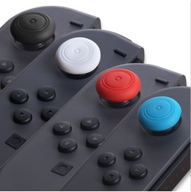 【希金博特姆】Nintendo Switch NS 任天堂 JOY-CON手把控制器專用 類比 保護套 搖桿 香菇頭(一組四入)