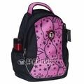 UNME運動背包小學生書包超輕背包兒童後背戶外教學超級輕護脊書包3099粉紅色