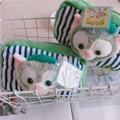 迪士尼 畫家貓 傑拉托尼 化妝包 史黛拉 立體化妝包 收納包 手拿包 零錢包 萬用包 小物包 雜物包 筆袋 束口袋 娃娃(99元)