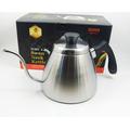 SADOMAIN 仙德曼 咖啡&茶用兩用細口壺 304不銹鋼 800ML 不銹鋼色 咖啡壺 泡茶壺 開水壺 SF009