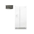 『MAYTAG』☆美泰克 710L對開電外置式取水取冰 冰箱 MSF25D2EAW