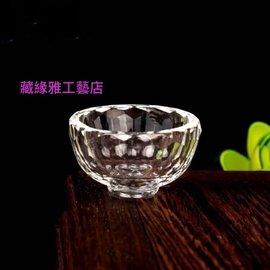 藏緣雅工藝店-水晶玻璃供碗 供水杯 供杯-寬3.9公分