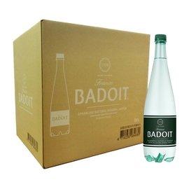 BADOIT 波多 氣泡天然礦泉水 1000毫升 X 12瓶 氣泡水 氣泡礦泉水 好市多