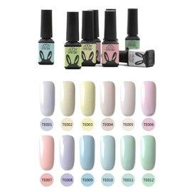 艾薇 Ivy's Nail美甲批發╭*正品 che gel 可卸式凝膠光療膠 105新上市 馬卡龍系列 12色 5ml