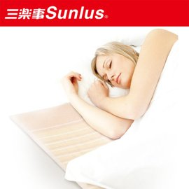 暖冬促銷~開幕現折+免運費【Sunlus三樂事】輕薄雙人電熱毯