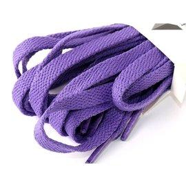 彩色 扁平鞋帶 9~10對鞋孔 180cm– 深紫 FA~47410