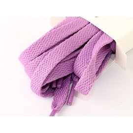 彩色 扁平鞋帶 9~10對鞋孔 180cm– 淺紫 FA~47409