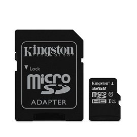 金士頓 Kingston 32G microSD UHS-I U1 TF C10 32GB 記憶卡 終保