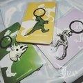 【JIZA藏寶箱】🦏小恐龍鑰匙圈🦏  生活日記-進化論系列 弔飾 鑰匙圈 恐龍 侏羅紀