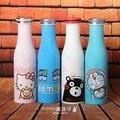 MOMO雜貨坊-創意牛奶瓶造型不鏽鋼保溫瓶💖