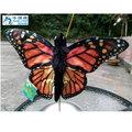 【哈狼族】Monarch Butterfly帝王斑蝶/蝴蝶手偶/玩具/腹語表演道具(外貿商品數量有限)