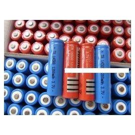 【誠泰電腦】3號 14500 3.7V 非1200maH 充電鋰電池 帶凸點 手電筒套件 L2 T6 Q5 強光手電筒