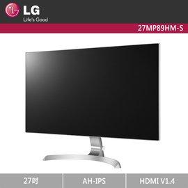 LG 樂金 27MP89HM-S 27型 Full HD IPS 電競 顯示器 / 護眼技術