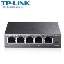TP~LINK TL~SG105 1000Mbps 鋼殼 5埠 級Gigabit 器