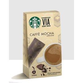 星巴克風味VIA 摩卡即溶研磨咖啡(有效期限至2018.4.14)