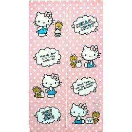[特價出清] Hello Kitty 凱蒂貓與小熊 點心 門簾 長門簾 正版原廠授權 卡通可愛