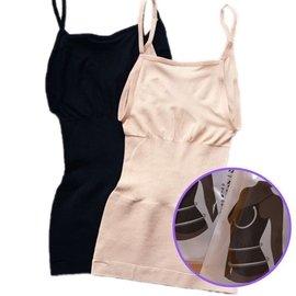 美體塑身內衣 munafie同款記憶細肩帶收腹塑型產後無縫薄背心獨立包裝藍金魚WP